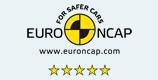 ユーロNCAPにて最高評価の5つ星を獲得
